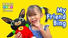 Bing Bunny Cbeebies My Friend Toy - Kids Toys | Playtime with Elise | Ki...