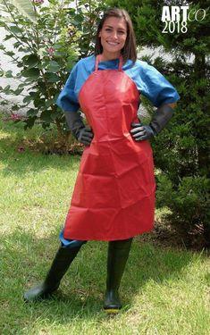 Raincoats For Women Rainy Days Code: 3750608810 Plastic Raincoat, Pvc Raincoat, Hooded Raincoat, Latex Gloves, Rubber Gloves, Plastic Aprons, Vynil, Pvc Apron, Rain Fashion