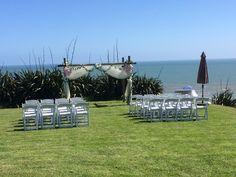 "Say ""I Do"" on the cliff tops over looking Karioitahi Beach on Auckland's South West coast."