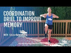 Challenge yourself! This sequence of strength moves will help boost your memory and muscles at the same time. Benefits Of Exercise, Senior Fitness, Regular Exercise, Aging Gracefully, Total Body, Body Works, Workout Videos, Cardio