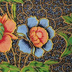 Looks exactly like my mom's kain batik Batik Art, Batik Prints, Textile Prints, Textile Art, Art Prints, Batik Pattern, Pattern Art, Malaysian Batik, Shibori