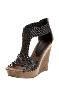 Bucco Alamea Open Toe Wedge