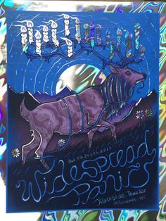 Widespread Panic - Milwaukee, WI 2015 (Lava Foil Variant) - by Jim Mazza