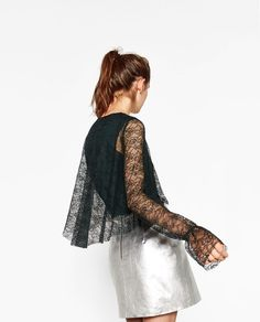 LACE BLOUSE-View all-TOPS-WOMAN | ZARA United States