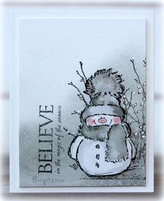 Rapport från ett skrivbord: Snowmen in grey!