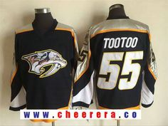 Men s Nashville Predators  55 Jordin Tootoo Navy Blue 1998-99 Throwback Stitched  NHL CCM Vintage Hockey Jersey. Find this Pin and more on NHL Hockey jerseys  ... 8d3e49072