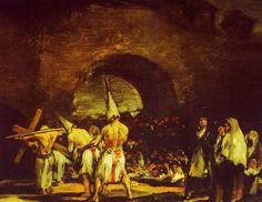 """"""" Penitencias """" Francisco de Goya."""