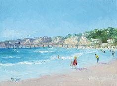 San Diego Beach #sandiego #sandiegobeach #californiabeaches #beachpaintings #beachartwork #beachcottagedecor #beachthemedecor #beachwalldecor #coastaldecor #beachstylehomedecor