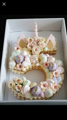 Cupcakes Cakes Birthday Number 64 Ideas For 2019 Birthday Cake Cookies, Number Birthday Cakes, Baby Girl Birthday Cake, Birthday Cake With Flowers, Number Cakes, Wedding Cakes With Cupcakes, Birthday Numbers, Cupcake Cakes, Flower Birthday