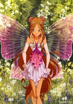 Cartoon Profile Pics, Cartoon Pics, Arte Final Fantasy, Fantasy Art, Winx Magic, Les Winx, Flora Winx, Bloom Winx Club, Cartoon Wallpaper