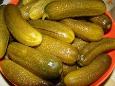 Hungarian Recipes, Hungarian Food, Meat Recipes, Preserves, Pickles, Cucumber, Sausage, Canning, Kitchen