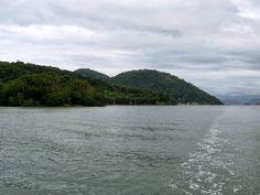 Vista da Praia e Ilha de Tambi.