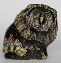 Лев-колокольчик львовской художницы Ирины Марко