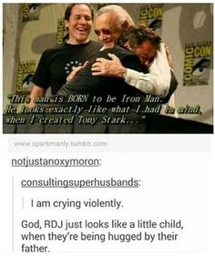 Still one of my all time favorite photos. Ever. You deserve it, RDJ. <3
