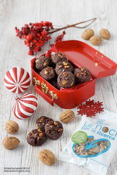 La tana del coniglio: Cookies vegani cioccolato e noci