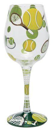 retired lolita wine glasses images | Tennis Wine Glass by Lolita | Lolita® Wine Glasses (West End Glasses)