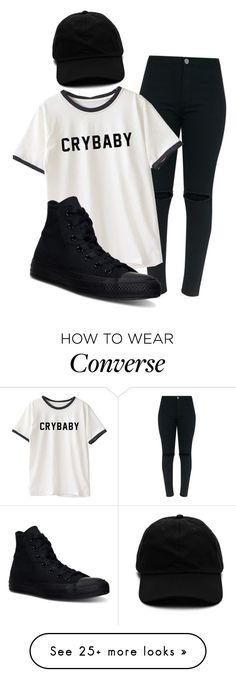 """heart's to big for your body, that's why it don't fit inside"" by sydthekyd01 on Polyvore featuring Converse"
