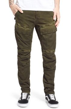 G-Star Raw 'Air Defence' Slim Cargo Pants available at #Nordstrom