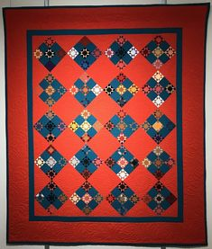 This type of photo is unquestionably a noteworthy design approach. Sampler Quilts, Amish Quilts, Star Quilts, Scrappy Quilts, Baby Quilts, Quilting Thread, Civil War Quilts, Colorful Quilts, Miniature Quilts