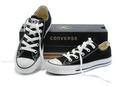 daae34b12c3c Available   TrendTrunk.com NEW BLACK AND WHITE LOW CUT CONVERSE. By Converse .