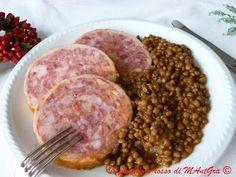 Il Pomodoro Rosso di MAntGra: Zampone e lenticchie