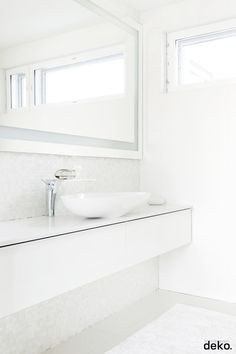 50 Interesting Scandinavian Bathroom Ideas: 50 Interesting Scandinavian Bathroom Ideas With Wall Mirror And Bathroom Vanity And Small Windows Decor Bathroom Inspiration, Bathroom Vanity, Small Bathroom Makeover, Scandinavian Bathroom Design Ideas, Bathroom Decor, Bathroom Shelf Decor, Scandinavian Bathroom, Bathroom Design Plans, White Bathroom