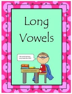 This FREE set will help your students master long vowels.  Included is a sheet for long a, long e, long I, long o, and long u.  Students will have fun coloring in the long vowel words!