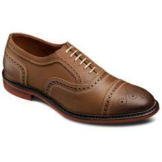 Allen Edmonds Strandmok Cap-toe Oxfords 4027 Brown Leather