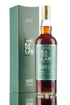 Released by King Car distillery under their superb Solist whisky range, this beautiful Taiwanese single malt whisky was aged in casks that previously held Port wine! A small release of only 174 bottles, filled at cask strength - 57.8%.
