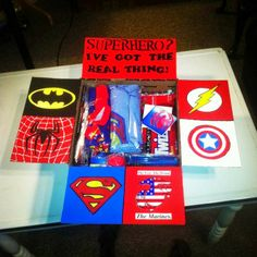 Crown and Cape : Care package Fit For a Hero Super Hero Care Package Ideas. www.crownandcape.net