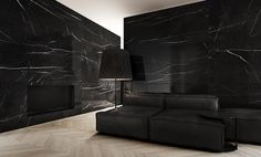 "I want those walls more than anything else. My dreams come to realization, well somewhere in the world. ""Black Marble - Tamizo Architects"""