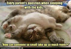 ...when sleeping with the kids.
