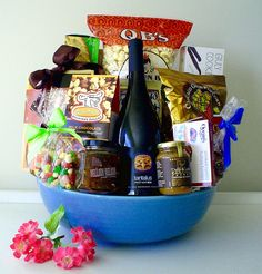 GORGEOUS GIFT BASKETS------by pinkshark.ca Holiday Gift Baskets, Wine Gift Baskets, Holiday Gifts, Coffee Baskets, Smoked Oysters, Real Estate Gifts, Spa Gifts, Wine Festival, Wines