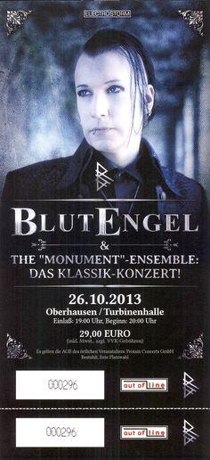 BlutEngel  26.10.2013 Oberhausen Turbinenhalle