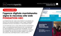 L'agence digitale #MentalWorks signe le nouveau site web FONDATION HEC Le site web repose sur le #CMS #OpenSource #Wordpress avec un webdesign responsive 100% sur-mesure et une expérience utilisateur #UX optimisée. Le site est également interfacé avec le module #iRaiser qui permet de recueillir directement les dons en ligne des contributeurs. A découvrir : www.fondationhec.fr