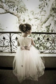 Flower girl dress for my babygirl in Jess's wedding! Wedding Wows, Chic Wedding, Wedding Photos, Dream Wedding, Wedding Day, Groom And Groomsmen, Mother Of The Bride Hats, My Perfect Wedding, Pose