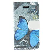 Blauwe vlinder patroon pu lederen Full Body C... – USD $ 5.99