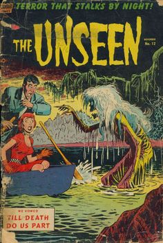 Comic Book Cover For The Unseen #12