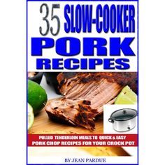 35 Slow Cooker Pork Recipes: Pulled Tenderloin Meals to Quick and Easy Pork Chop Recipes for Your Crock Pot Easy Pork Chop Recipes, Pork Recipes, Wine Recipes, Crockpot Recipes, Cooker Recipes, Easy Recipes, Pork Tenderloin Recipes, Pork Chops, Slow Cooker Pork