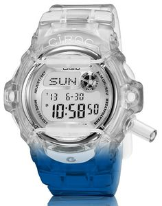 Casio G-Shock Baby-G Watch With Breathalyzer For Vodka Maker (This is just for your you drunken watchlovers...lol)