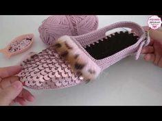 Crochet Shoes Pattern, Crochet Earrings Pattern, Shoe Pattern, Crochet Sandals, Crochet Slippers, Diy Makeup Bag, Diy Purse, Handmade Jewelry Designs, Crochet Videos