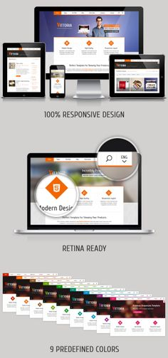 Vittoria – Responsive Retina-Ready Multipurpose Template - Responsive HTML5 Template- themesforest