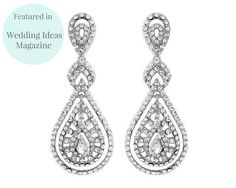 Beautiful art deco inspired Austrian crystal chandelier earrings to complete your look. New in stock to add to our Gatsby Glamour collection. Pearl Drop Earrings, Chandelier Earrings, Clip On Earrings, Bridal Accessories, Wedding Jewelry, Wedding Hair, Art Deco Fashion, Fashion Jewelry, Deco Luminaire