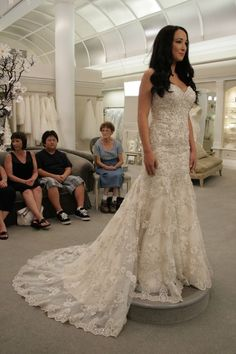 Other+Kleinfeld,+danielle+caprese,+sweetheart+mermaid+dress