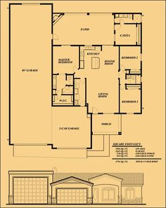 RV Garage Apartment Plan, 072G-0035 ~ Great pin! For Oahu ...