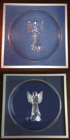 Aniołek ze szkła w ramce 3d frames circle, bardzo fajny efekt zarówno w oświetleniu sztucznym jak i naturalnym