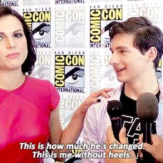 Lana & Jared height issues #OnceUponATime