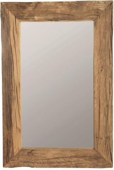 Spiegel Pure Nature 60 x 90 cm Gerecycled hout House Doctor - LiL. House Of Mirrors, Wall Mirrors, House Doctor, Toddler Girl Bedding Sets, Natural Bedding, Beautiful Mirrors, Scandinavian Furniture, Recycled Wood, Rustic Design