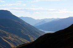 Mountains Meet Lake #3 - photograph by Stuart Litoff 1-stuart-litoff.artistwebsites.com #lakewakatipu #mountainphotos