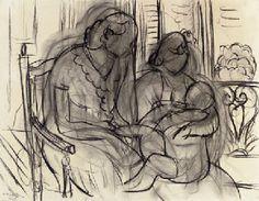 """""""Maternité"""" by Henri Matisse"""